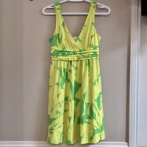 Yellow/Green American Eagle Summer Dress